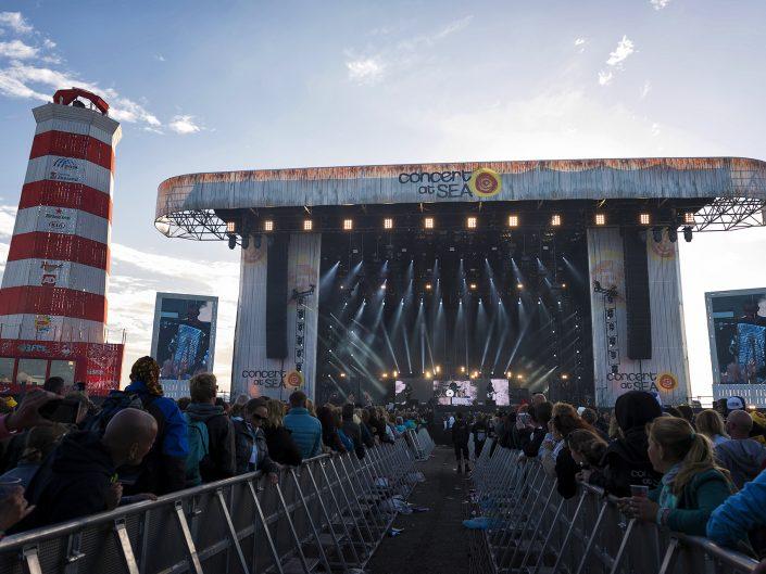 Concert at Sea 2016 in opdracht van PRG Nederland